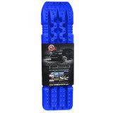 set TRED 1100 4x4 4WD rijplaten - zandplaten  blauw_