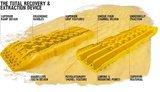 set TRED 1100 4x4 4WD rijplaten - zandplaten  desert zandkleur_