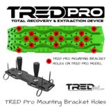 Fluro green - fel groen TRED GT rijplaat - sandboard
