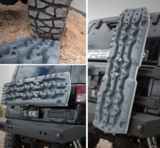 GRIJS - GUN GREY - TRED GT rijplaat - sandboard