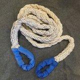 Kracht verdeel touw wit 2 meter