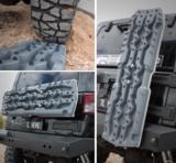 set TRED PRO 4x4  4WD rijplaten - zandplaten grijs_