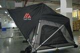 TUFF TREK COMPASS 140 DAKTENT Large auto setup met luifel_