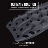 TRED PRO 4x4  4WD rijplaten - zandplaten rood_