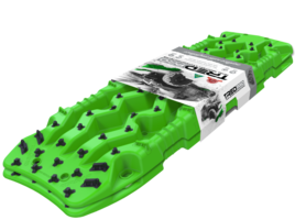 set TRED PRO 4x4  4WD rijplaten - zandplaten fel groen
