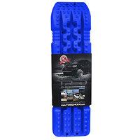 set TRED 1100 4x4 4WD rijplaten - zandplaten  blauw
