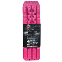 set TRED 1100 4x4 4WD rijplaten - zandplaten pink roze