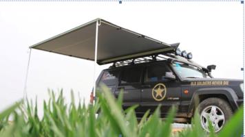 KOALA CREEK®  EXPLORER luifel grijs 200x250 cm.  Rip-Stop polyester/katoen