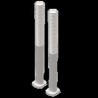 set TRED PRO montage kit verlengpennen voor rijplaten - zandplaten