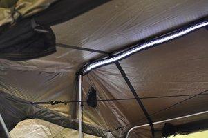 KOALA CREEK® daktent LED strip 120 cm - 12 Volt dimbaar