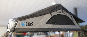 KOALA CREEK ® daktent 165L active curved donkergrijs