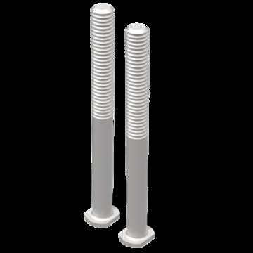 TRED PRO montage kit verlengpennen voor rijplaten - zandplaten