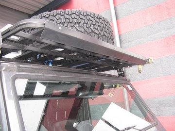UPRACKS 63-A0091 ABS spoiler voor dakrek-roofrack breed 110 cm.