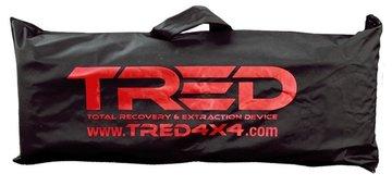 TRED 1100 en PRO draagtas voor rijplaten - zandplaten