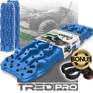 set TRED PRO 4x4  4WD rijplaten - zandplaten blauw