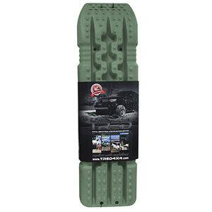 set TRED 1100 4x4 4WD rijplaten - zandplaten army legergroen