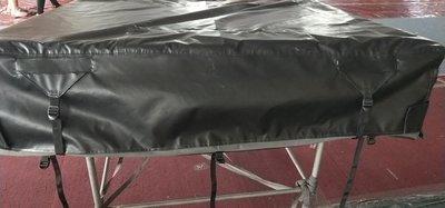 KOALA CREEK® daktent 140 cm. cover zwart, vanaf 2019 met 8 kunststof gespen