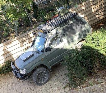 Upracks roofrack-dakrek Landcruiser Prado 90
