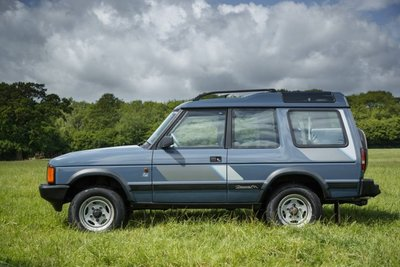 Land Rover Discovery Twistim Upracks roofrack