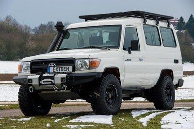 Upracks roofrack-dakrek Landcruiser 75 - 76 - 78
